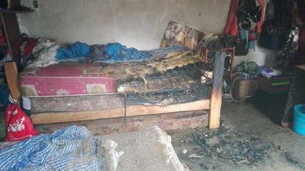 Familia se salva de morir tras explosión de bomba lacrimógena en Trujillo