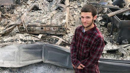 La incansable búsqueda de un hermano desaparecido en medio de los incendios en California