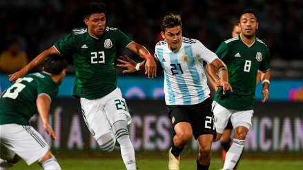 Argentina derrotó 2-0 a México en amistoso disputado en Córdoba