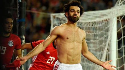 Mohamed Salah anotó un golazo al último minuto para la victoria de Egipto