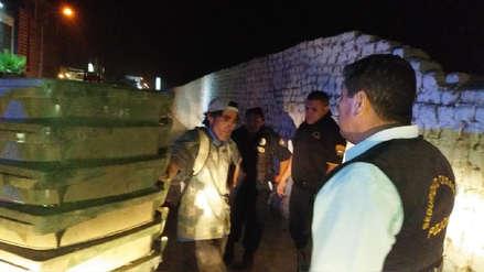 Intervienen a hombre por robo de contenedores de limpieza pública en Trujillo