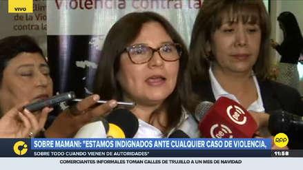 Ministra de la Mujer pidió levantar inmunidad parlamentaria de Moisés Mamani