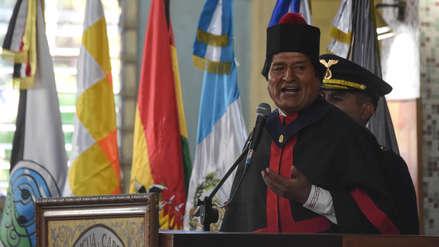 Evo Morales admitió que se ha acostumbrado al poder y no quiere dejarlo