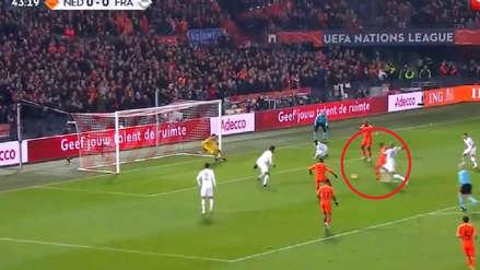 Francia vs. Holanda: la estupenda definición de Wijnaldum en la UEFA Nations League