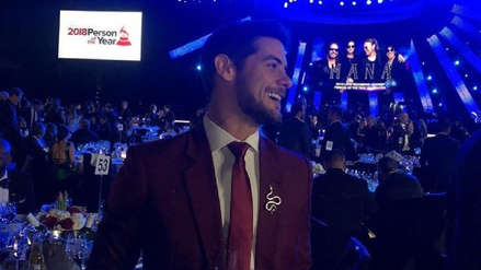 Latin Grammy 2018: Andrés Wiese se lució en la ceremonia de Las Vegas [FOTOS Y VIDEO]