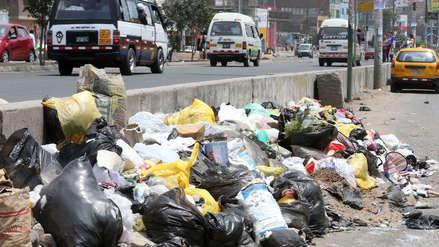La acumulación de basura en las calles: un problema que se repite en varias regiones del país
