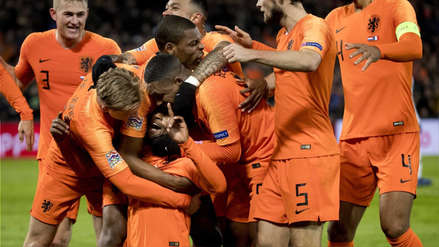 Holanda venció 2-0 a Francia  por la UEFA Nations League