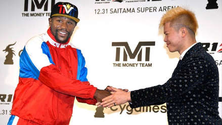 Floyd Mayweather sí peleará ante Tenshin Nasukawa el 31 de diciembre en Japón