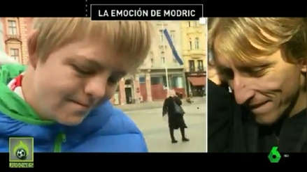 La emoción de Luka Modric tras el mensaje de un hincha con síndrome de down