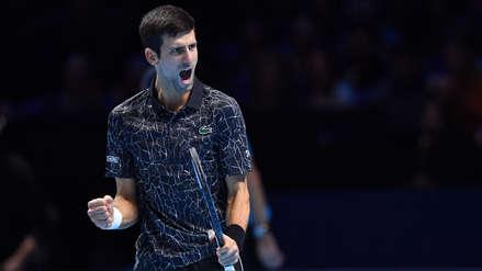 Novak Djokovic venció a Kevin Anderson y jugará con Alexander Zverev la final del Torneo de Maestros