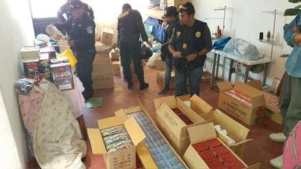 En la región Lambayeque solo un taller de pirotécnicos opera de manera formal
