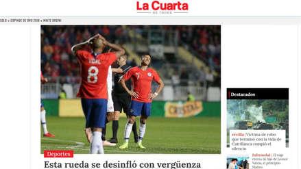 Chile perdió ante Costa Rica y la prensa chilena le apuntó a Reinaldo Rueda