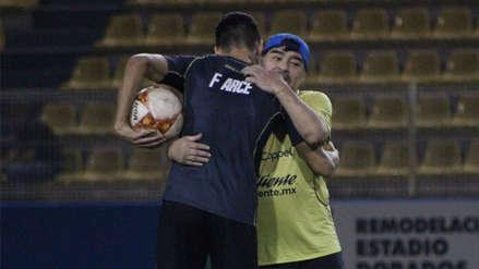 Diego Maradona recibió una mala noticia en plena liguilla con los Dorados en México