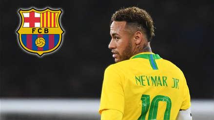 Neymar y su reacción sobre su posible regreso al Barcelona