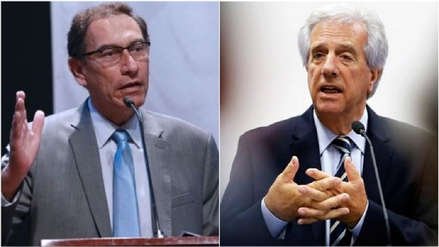 Vizcarra habló con el presidente de Uruguay sobre el pedido de asilo de Alan García