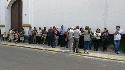 Comerciantes de Apiat en conflicto en Trujillo