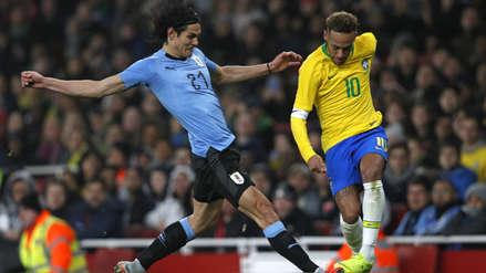 Neymar y su tajante respuesta sobre su cruce con Edinson Cavani en el Brasil vs. Uruguay