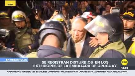 Agreden a Luis Alva Castro frente a la residencia del embajador de Uruguay [Video]