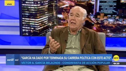 García Belaúnde: Alan García