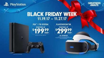 Black Friday: PS4 entre las mejores ofertas de consolas del Viernes Negro 2018