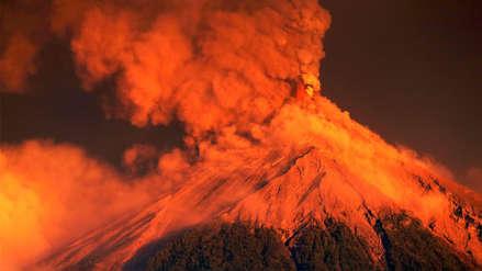 Fotos | Impactantes imágenes de la nueva erupción del volcán de Fuego en Guatemala