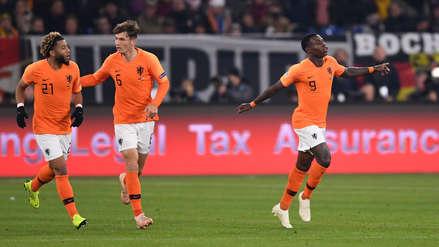 Holanda empató con Alemania y clasificó al final four de la Liga de Naciones