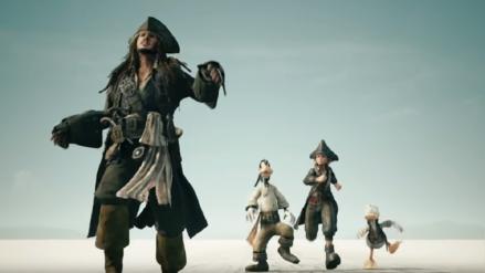 Kingdom Hearts 3 | Nuevo tráiler muestra personajes de Piratas del Caribe, Rapunzel, Toy Story, Monsters Inc. entre otros