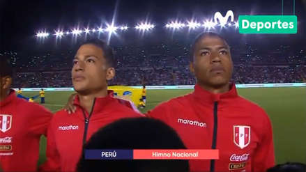 Perú vs. Costa Rica: el emocionante canto del Himno Nacional en Arequipa