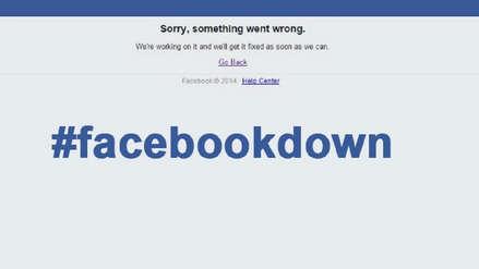 Facebook e Instagram mueren temporalmente y continúan presentando fallos