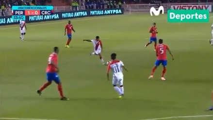 Perú vs. Costa Rica EN VIVO:  Yoshimar Yotún casi anota un golazo desde fuera del área