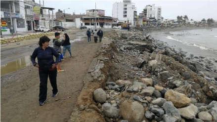 Empresarios se oponen a espigones en Huanchaco afectado por oleaje anómalo