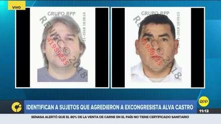 Policía Nacional identificó a los dos presuntos agresores de Luis Alva Castro