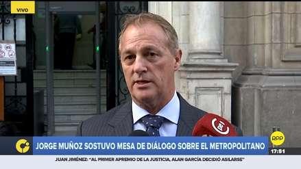 Representantes de la Municipalidad de Lima no asistieron a reunión sobre el Metropolitano