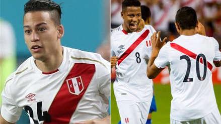 Perú vs. Costa Rica: Cristian Benavente y los jugadores de la Sub 20 de Ahmed