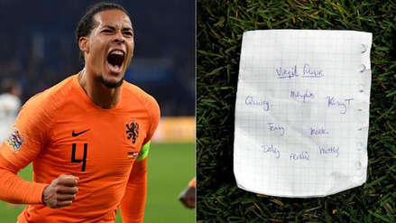 El misterioso papel que generó el gol de Van Dijk y dio la clasificación a Holanda