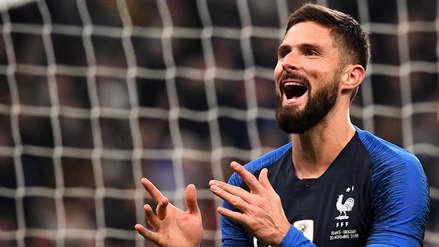 Uruguay perdió ante Francia en Amistoso Internacional FIFA