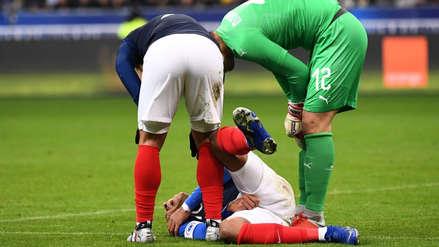 Uruguay vs. Francia: Kylian Mbappé se lesionó tras terrible caída
