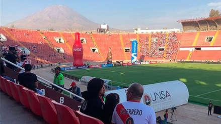 Así luce el campo de la UNSA en la previa del Perú vs. Costa Rica
