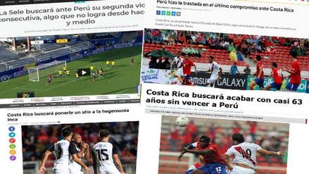 Perú vs. Costa Rica: así vive la prensa 'tica' la previa del partido en Arequipa