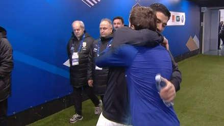 Uruguay vs. Francia: el especial saludo entre Antoine Griezmann y Luis Suárez