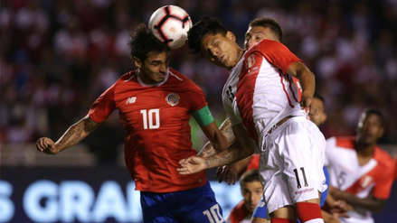 Selección Peruana perdió ante Costa Rica y cierra una amarga fecha FIFA