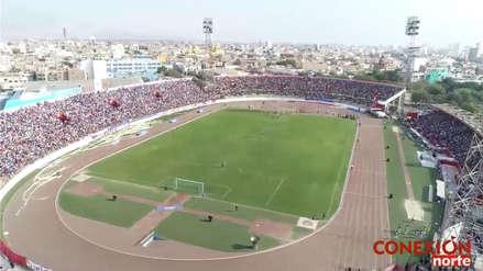 Carlos A. Mannucci vs. César Vallejo: la impresionante vista del estadio Mansiche de Trujillo desde un drone | FOTOS