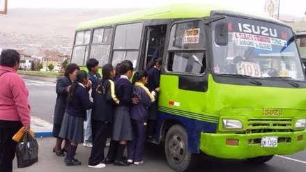 Escolares de Trujillo contarán con carné de medio pasaje