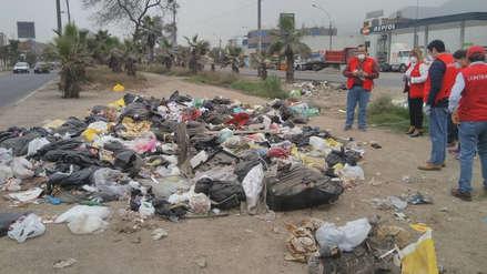 Contraloría realiza operativos en varios distritos por acumulación de basura en la vía pública