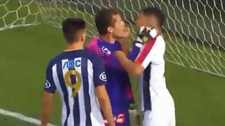 Alianza Lima vs. San Martín: Butrón y Luján se agredieron al final del partido | VIDEO