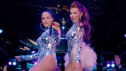 Thalía y Natti Natasha protagonizaron incómodo momento tras falla de playback en concierto [VIDEO]