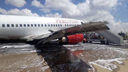 Bolivia inicia investigación del aterrizaje forzoso del avión de Peruvian Airlines