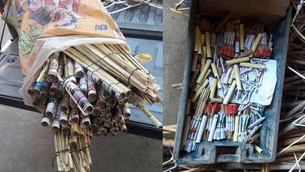 Lambayeque: Sucamec decomisó 120 kilos de material y pirotécnicos