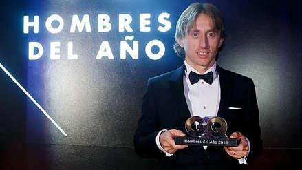 Luka Modric fue elegido deportista del año por la revista GQ