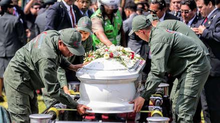 Familiares, amigos y colegas dieron el último adiós a policías asesinados en el Rímac
